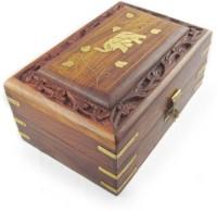 Onlineshoppee AFR1410 Jewellery Vanity Box(Brown)