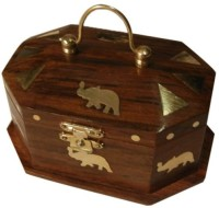 Onlineshoppee CA274A Jewellery Vanity Box(Brown)