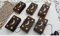 Onlineshoppee AFR1187 Jewellery Vanity Box(Brown)