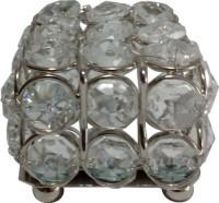 Decor8 Square Box Small Jewellery Vanity Box(Silver)