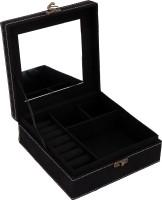 Borse N5 Make Up And Jewellery Vanity Box(Black) - Price 559 77 % Off