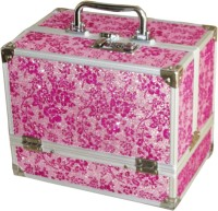 Satisfaction Ziva to store cosmetic items Vanity Box(Pink)