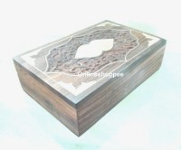 Onlineshoppee CA277 Jewellery Vanity Box(Brown)