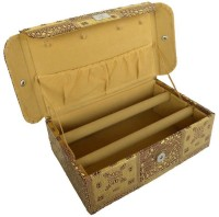 Ermani Export 2 Row Gold Bangle Box Makeup Vanity Box(Gold) - Price 589 85 % Off