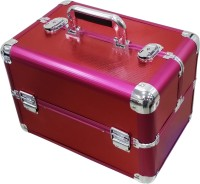Satisfaction Flora to store cosmetic items Vanity Box(Red)