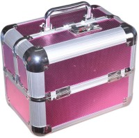 Pride Star Smile to store cosmetics Vanity Box(Pink)