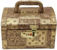 Ermani Export Makeup box Makeup Vanity Box(Gold) - Price 670 77 % Off