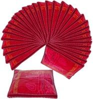 Atorakushon 36pc Saree Salwar Suit Dress Protection Cover Garment pouch Box Bag Storage Case Vanity Box(Maroon)