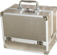 Satisfaction Ziva to store cosmetic items Vanity Box(Silver)