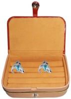 Aadhya multipurpose ring keep delicate jewellery safe Vanity Box(Brown) - Price 116 55 % Off