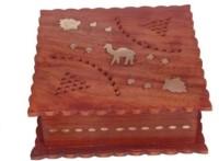 Onlineshoppee AFR402 Jewellery Vanity Box(Brown)