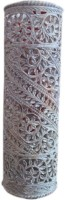 Pooja Creation Stoneware Vase(6 inch, White)