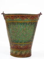 Artlivo Iron Vase(12 inch, Multicolor)