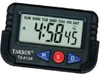 TAKSUN Analog - Digital Car Vehicle Clock