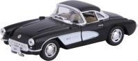 Kinsmart Die-Cast Metal 1957 Chevrolet Corvette(Black, Pack of: 1)
