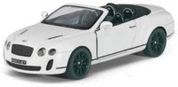 Kinsmart 2010 Bentley Continental Sports(White, Pack of: 1)