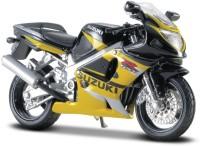 Maisto Suzuki GSX R600(Black, Yellow, Pack of: 1)
