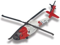Maisto Fresh Metal Tailwinds HH-60J jayhawk aeroplane toy model(white and red)