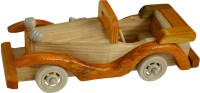 BKDT Marketing Wooden Hand Made Beautiful Decorative Car(Brown)