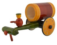 Anuradha Wooden Cart(Multicolor, Pack of: 1)