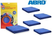 Abro Microfiber Vehicle Washing  Cloth(Pack Of 5)