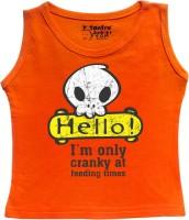 Tantra Vest For Baby Boys Cotton(Orange)