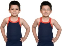 Bodysense Vest For Boys Cotton Blend(Black)