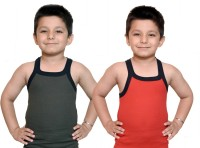 Bodysense Vest For Boys Cotton Blend(Red)