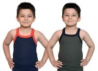 Bodysense Vest For Boys Cotton Blend(Blue)