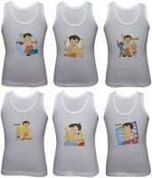 Body Care Vest For Boys Cotton(White)