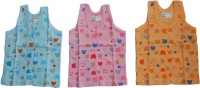 NammaBaby Vest For Baby Boys Cotton(Multicolor)