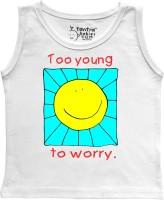 Tantra Vest For Baby Boys Cotton(White)