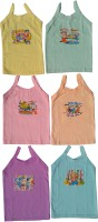 Shanti Store Vest For Girls Cotton(Multicolor, Pack of 6)