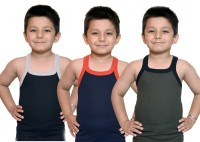 Bodysense Vest For Boys Cotton Blend(Multicolor)