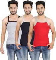 Mr.Fake Men's Vest(Pack of 3)