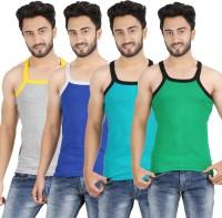 Mr.Fake Men's Vest(Pack of 4)