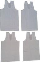 Shanti Store Vest For Boys Cotton(White)
