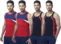 Ranjit Rocky Mens Vest(Pack of 4)