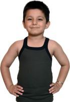 Bodysense Vest For Boys Cotton Blend(Dark Green)