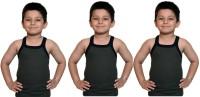 Bodysense Vest For Boys Cotton Blend(Green)