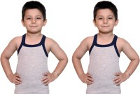 Bodysense Vest For Boys Cotton Blend(Grey)