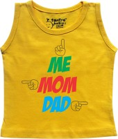 Tantra Vest For Baby Boys Cotton(Yellow)