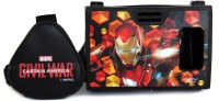 AuraVR Official Marvel Civil War Iron Man With Armor Virtual Reality Viewer Video Glasses(Black)