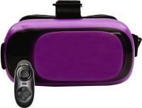 VR 12 Purple with Black Remote Video Glasses(Purple)