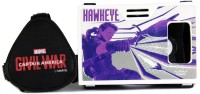 AuraVR Official Marvel Civil War Hawkeye Virtual Reality Viewer (VR Headset) Video Glasses(Black-White)