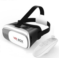Music Mantra Virtual Reality 3D VR BOX With Remote Controller For Vibe K5 Note Video Glasses(Black)