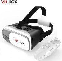 speed Virtual Reality 3D With VR Remote Controller Video Glasses(Black, White)