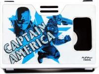 AuraVR Official Marvel ActionHero Captain America Virtual Reality (VR Headset) Video Glasses(White/Black)