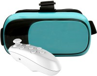 VR 12 Blue with White Remote Video Glasses(Blue)