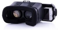 GoRogue Cardboard 3D VR Virtual Reality Headset Video Glasses(Black)